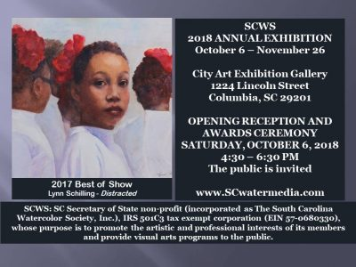 SC Watermedia Society Annual Juried Exhibition