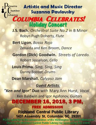 Columbia Celebrates! Holiday Concert.