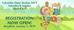 2019 Columbia Open Studios Artist Registration Begins