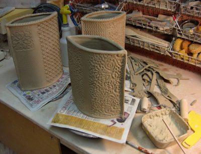 Intermediate Hand Building Pottery