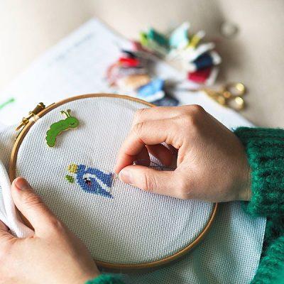 Art Class: Beginning Cross Stitch