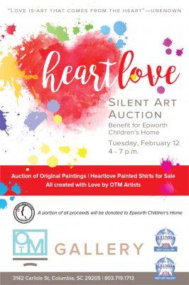 Heartlove Silent Art Auction Benefit for Epworth Children's Home