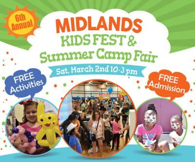 6th Annual Midlands Kids Fest & Summer Camp Fair