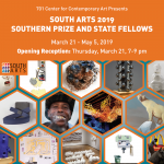 South Arts 2019 Southern Prize and State Fellows Opening Reception