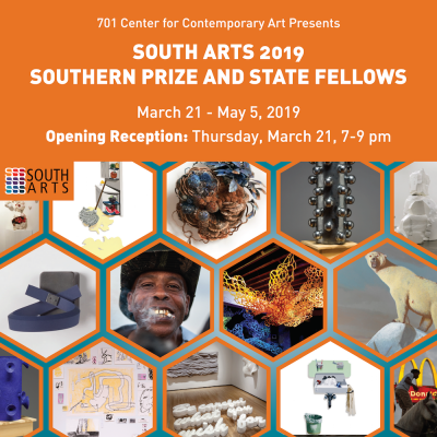 South Arts 2019 Southern Prize and State Fellows O...