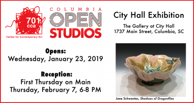 Columbia Open Studios City Hall Exhibition