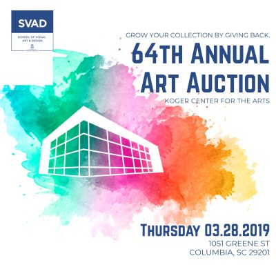 UofSC 64th Annual Art Auction