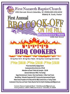 1st Annual BBQ Cook-Off on Blueberry Hill