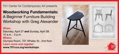 A Beginner Furniture Building Workshop with Greg Alexander