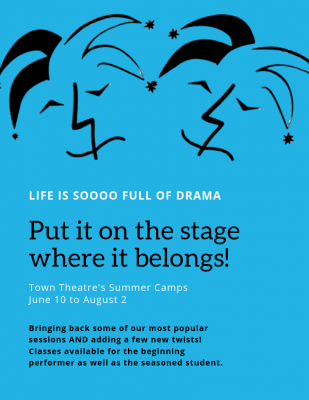 Summer Camp at Town Theatre: Open Theatre Week
