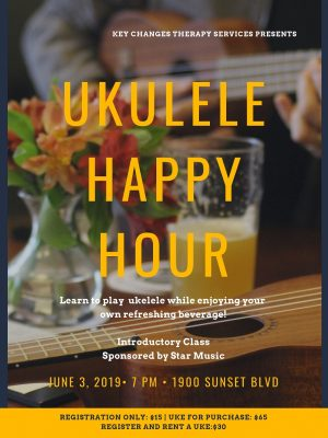 Ukulele Happy Hour