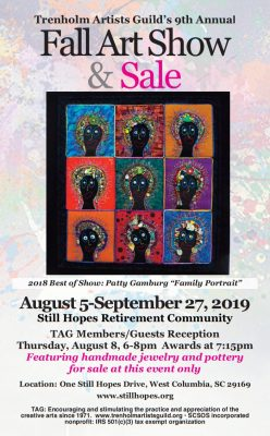 The Trenholm Artists Guild's 9th Annual Fall Jur...