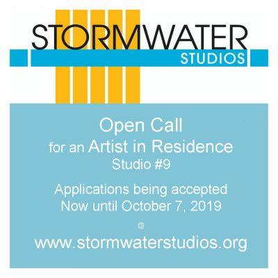 Stormwater Studios - Open Call for Resident Artist...