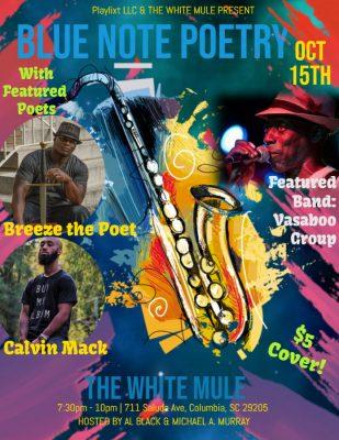 Blue Note Poetry feat. Breeze the Poet & Calvin Mack!
