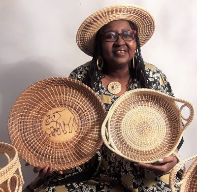 Sweet Grass Basket Weaving - Instruction by Mary G...