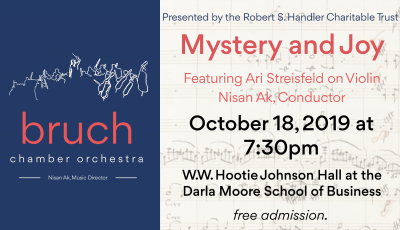 Mystery and Joy with the Bruch Chamber Orchestra