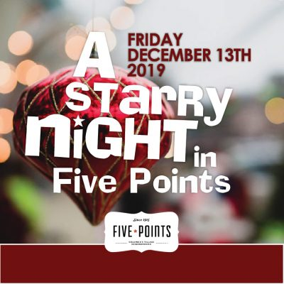 A Starry Night in Five Points 2019