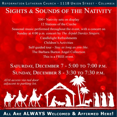 Sights and Sounds of the Nativity