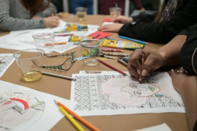 FAAAC presents Sip and Scribble