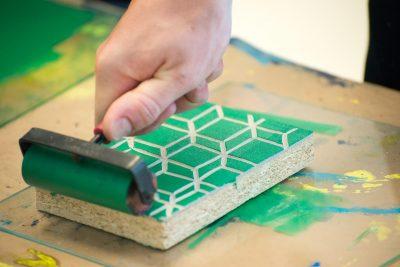 Art Class: Linocut
