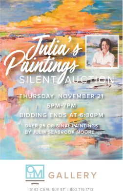 Julia's Paintings Silent Auction
