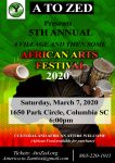 A TO ZED AFRICAN ARTS FESTIVAL 2020