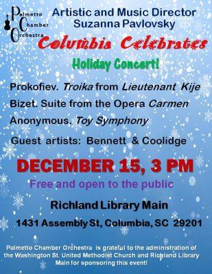 Columbia Celebrates! Holiday Concert.