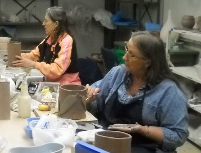 Intermediate Hand Building Pottery - Instruction b...