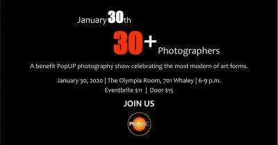 30.30+ PhotoSC's Benefit Photo PopUP Show
