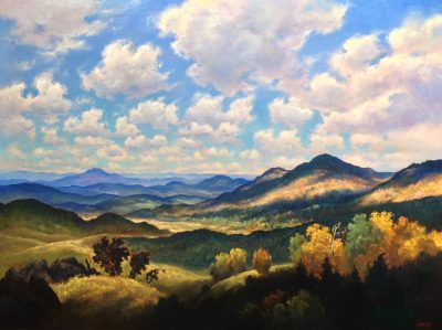 Gerard Erley Landscape Paintings