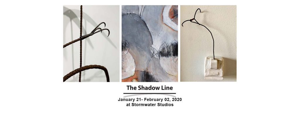 The Shadow Line Exhibition at Stormwater Studios