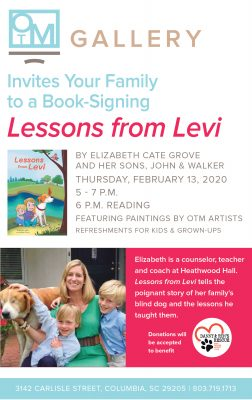 Book Signing at OTM Gallery - Lessons from Levi by...