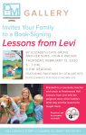 Book Signing at OTM Gallery - Lessons from Levi by Elizabeth Cate Grove and her Sons, John & Walker