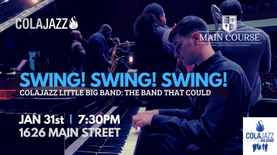ColaJazz Little Big Band: the band that could!