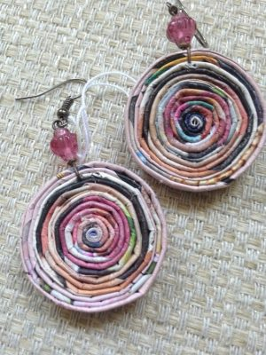 Coiled Paper Earrings