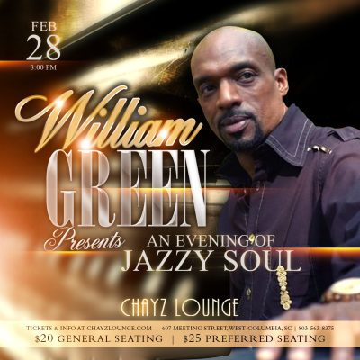 William Green Presents An Evening of Jazzy Soul