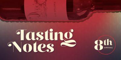 CANCELED: Tasting Notes 2020