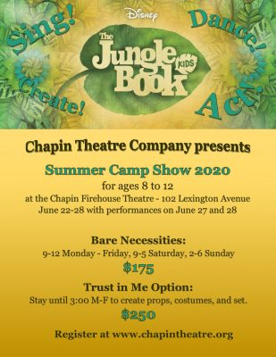 The Jungle Book - Summer Camp Show