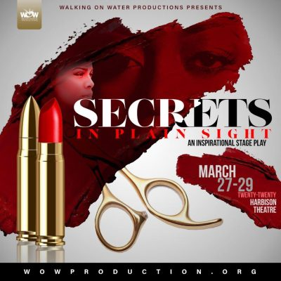 POSTPONED: Secrets in Plain Sight Stage Play