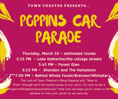 Poppins Car Parade