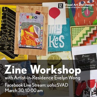 Zine Workshop with Evelyn Wong