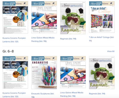 Online Arts and Crafts Lesson Plans