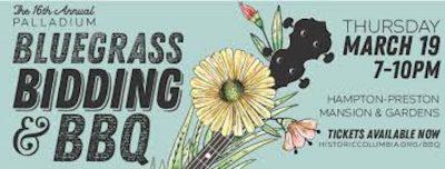 POSTPONED: Bluegrass, Bidding and BBQ