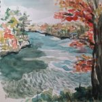 Outside the Box Water Color - Instruction by Katherine Elliott