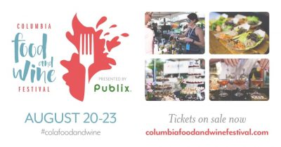Columbia's 2020 Food & Wine Festival