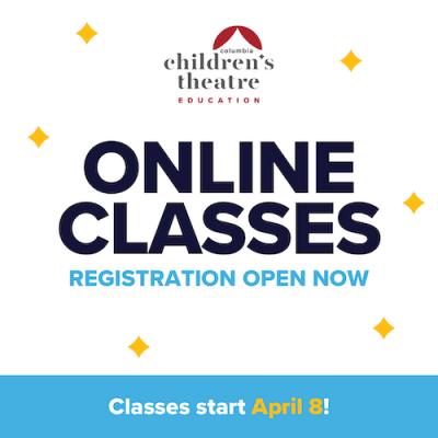 Columbia Children's Theatre Online Class Registration