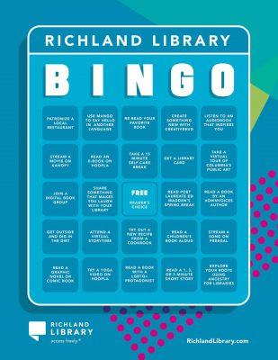 Richland Library Bingo