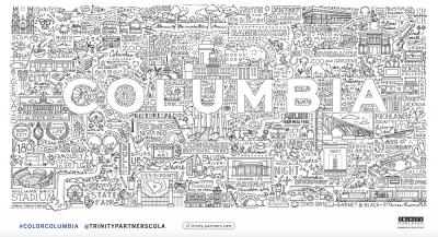 Columbia's Landmark Coloring Sheet