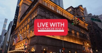 Live with Carnegie Hall
