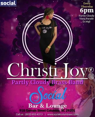 Christi Joy & the Partly Cloudy Brass Band